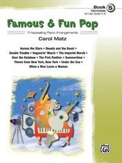 Famous & Fun Pop, Book 5