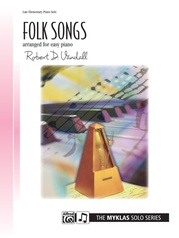 Folk Songs for Easy Piano
