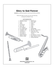 Glory to God Forever