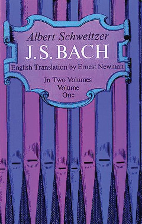 J. S. Bach, Volume 1