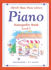 Alfred's Basic Piano Library: Notespeller Book 2