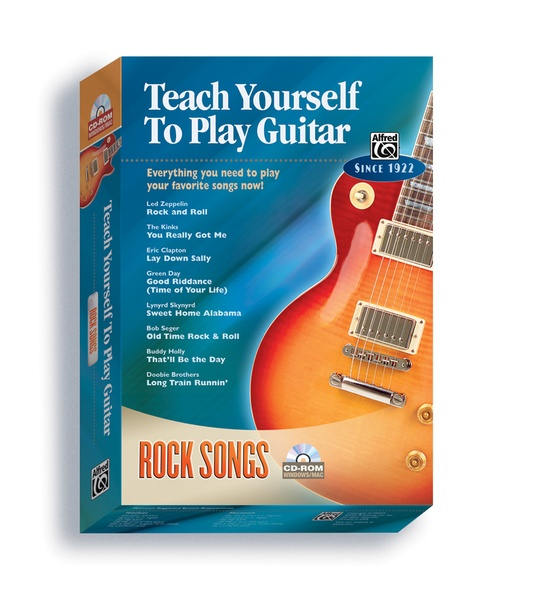 Alfred's Teach Yourself to Play Guitar: Rock Songs