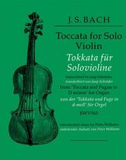 Toccata for Solo Violin
