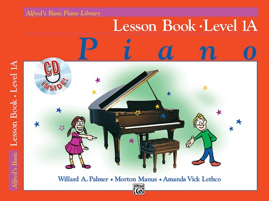 Alfred's Basic Piano Library: Lesson Book 1A: Piano Book & CD