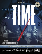 Jamey Aebersold Jazz, Volume 123: Now's the Time