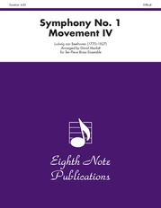 Symphony No. 1 (Movement IV)
