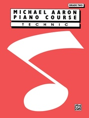 Michael Aaron Piano Course: Technic, Grade 2