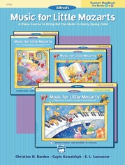 Music for Little Mozarts: Teacher's Handbook for Books 3 & 4