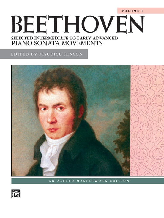 Beethoven, Selected Intermediate to Early Advanced Piano Sonata Movements, Volume 1