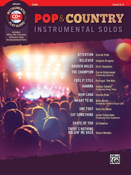 ポップ&カントリー・ソロ曲集(チェロ)【Pop & Country Instrumental Solos】