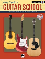 Jerry Snyder's Guitar School, Teacher's Guide Book 1