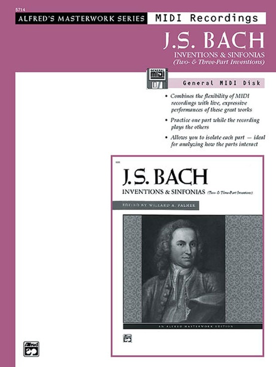 J. S. Bach, Inventions & Sinfonias (Two- & Three-Part Inventions)