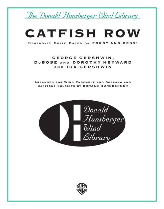 Catfish Row (Symphonic Suite Based on Porgy and Bess)