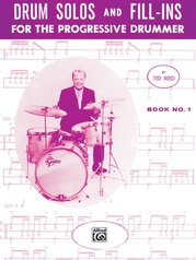 Drum Solos and Fill-Ins for the Progressive Drummer, Book 1