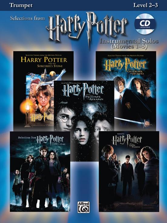 ハリー・ポッター・ソロ曲集(トランペット)【Harry Potter Instrumental Solos】