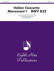 Italian Concerto, BWV 832 (Movement I)