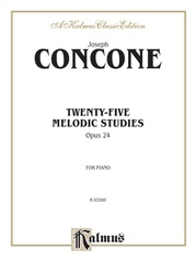 Twenty-Five Melodious Studies, Opus 24