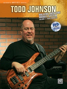 Todd Johnson Walking Bass Line Module System, Volume 1: Triad Modules