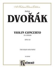 Concerto in A Minor, Opus 53