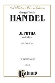 Jephtha (1752), An Oratorio