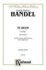Te Deum in D Major, Dettingen