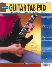 "Guitar TAB Pad (8.5"" x 11"")"