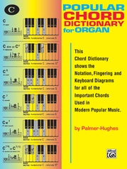 Popular Chord Dictionary for Organ