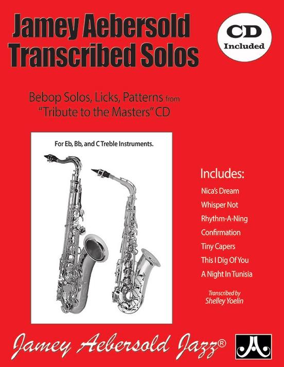 ジェイミー・エーバーソルド・ソロ曲集(クラリネット)【Jamey Aebersold Transcribed Solos】