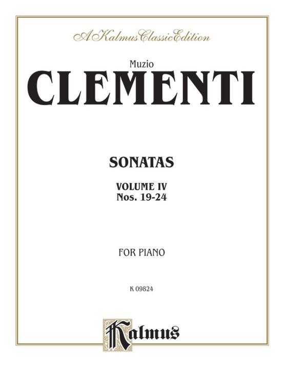 Piano Sonatas, Volume IV (Nos. 19-24)