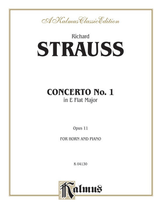 Horn Concerto No. 1 in E-flat Major, Opus 11