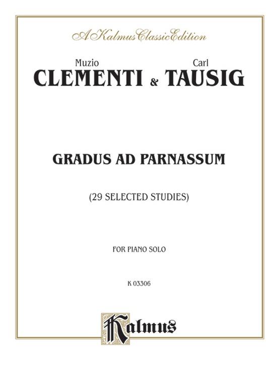 Gradus ad Parnassum (29 Selected Studies)