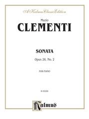 Sonata, Opus 26/2