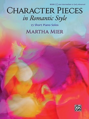 Character Pieces in Romantic Style, Book 3