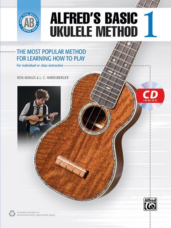 Alfreds Basic Ukulele Method 1 Ukulele Book Cd