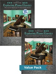 Exploring Piano Classics Level 5 (Value Pack)