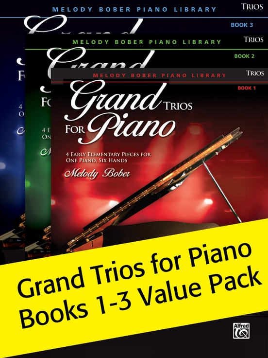 Grand Trios for Piano Books 1-3 (Value Pack)