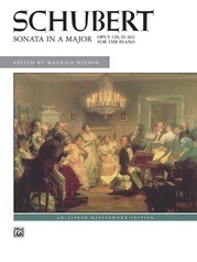 Schubert, Sonata in A Major, Opus 120