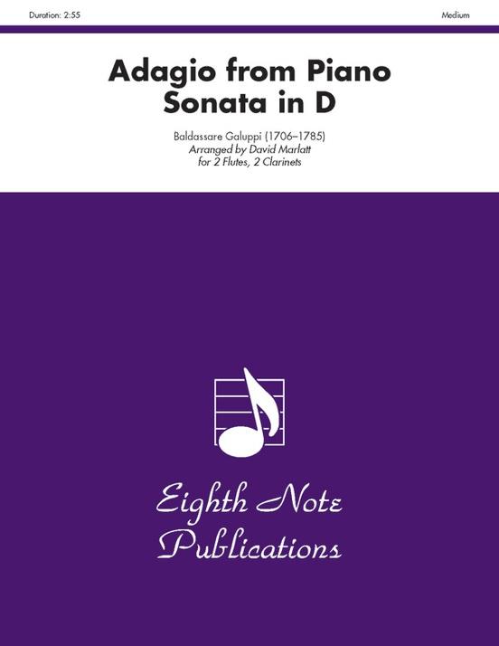 Adagio (from Piano Sonata in D)
