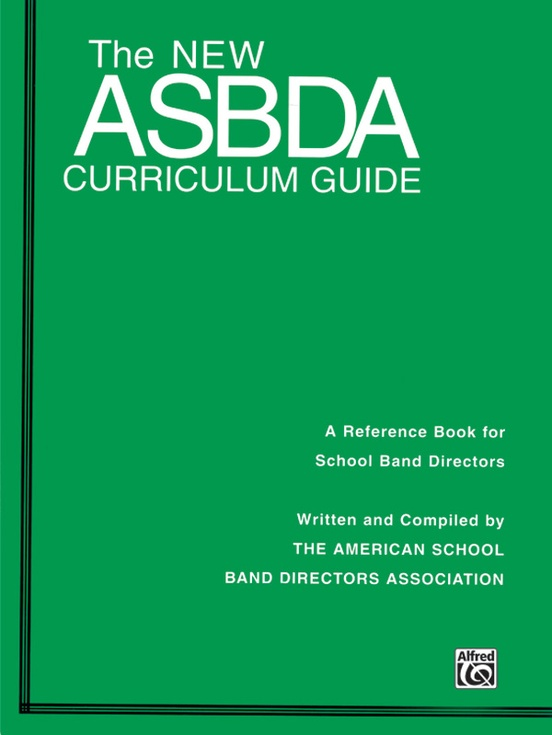 The New ASBDA Curriculum Guide
