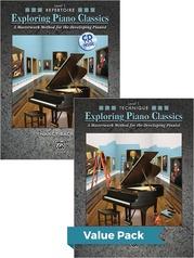 Exploring Piano Classics Level 1 (Value Pack)