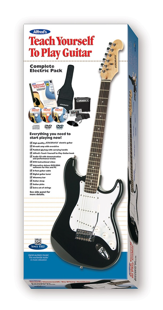 Alfred's Teach Yourself to Play Guitar, Complete Electric Pack