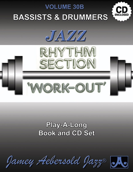 リズム・セクションのための練習曲集(ジェイミー・エーバーソルド)(ギター)【Jazz Rhythm Section Work-Out】
