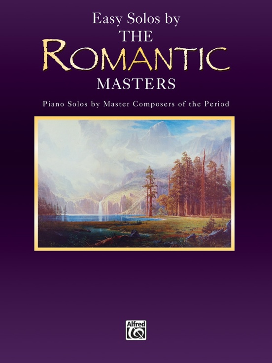 Masters Series: Easy Solos by the Romantic Masters