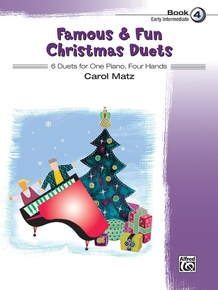 Famous & Fun Christmas Duets, Book 4