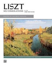 Liszt, Six Consolations