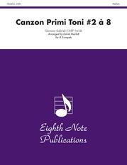 Canzon Primi Toni #2 à 8