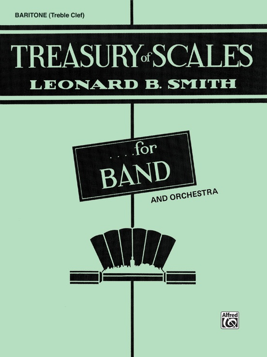 Treasury Of Scales For Band And Orchestra Baritone Tc Book