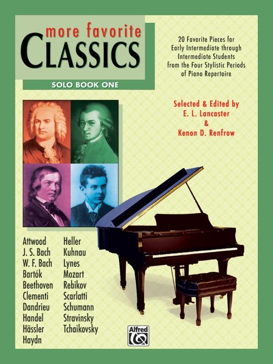 More Favorite Classics: Solo, Book 1