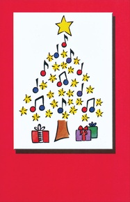 Schaum Recital Programs (Blank) #59: Christmas Note Tree