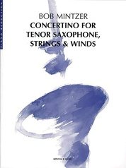 Concertino for Tenor Saxophone, Strings & Winds
